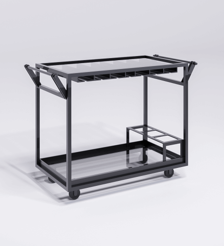 Black Edition Bar Cart