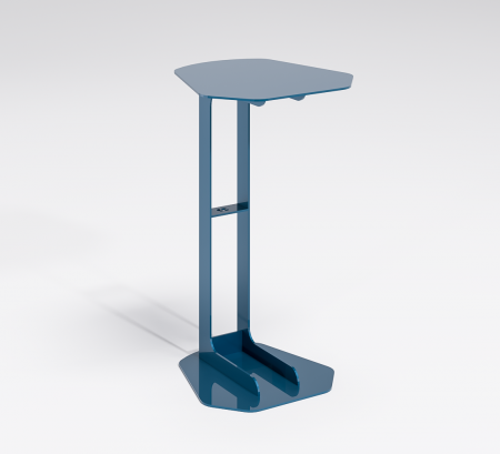 Linear Laptop Table - Blue